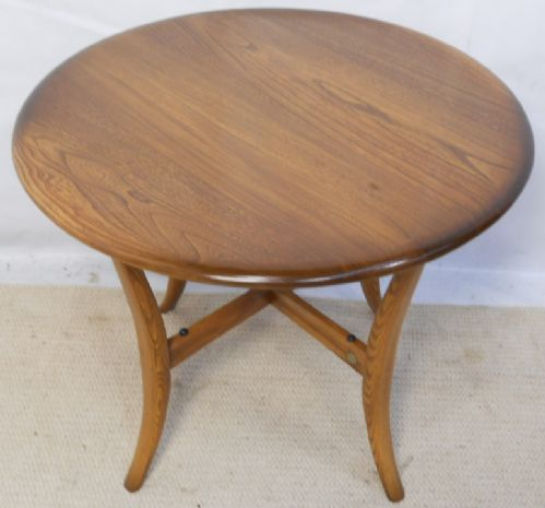 Ercol Golden Dawn Elm Round Coffee Table